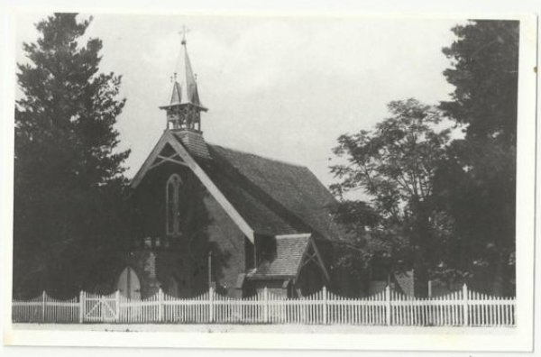 Inverell's First Catholic Church 1871-1904